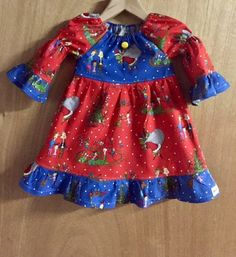 Grinch Christmas Dress, size 3t by SewMeems on Etsy