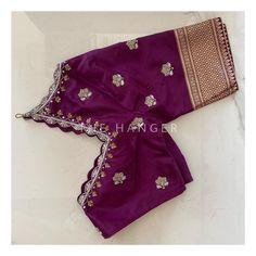 Bridal Blouse Designs, Blouse Neck Designs, Kanjivaram Sarees Silk, Beautiful Indian Brides, Maggam Work Designs, Hand Work Blouse Design, Indian Gowns Dresses, Blouse Models, Fashion Boutique