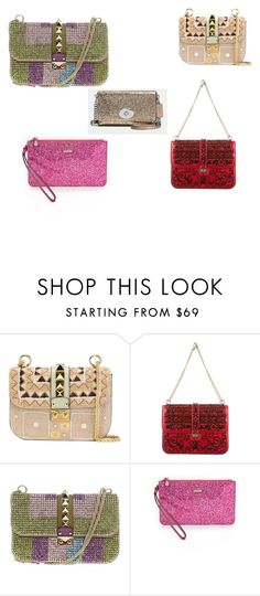 """Glam bags"" by jordanbond55 ❤ liked on Polyvore featuring Valentino, Kate Spade and Coach"