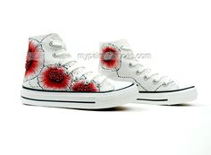 Painted Shoes Chinese Element Colors Ink Hand Painted Canvas,High-top Painted Canvas Shoes