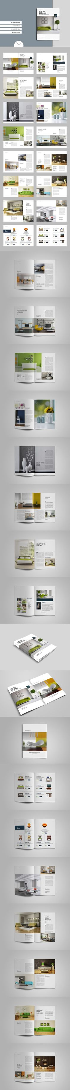 Interior Catalogs Magazine Template, Editorial Design, Layout, Templates, Interior, Magazine Design, Stencils, Page Layout, Design Interiors