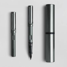 """The LAMY Lx is a stylish, modern writing instrument with that """"something special"""". A functional and elegant companion. Made of aluminium, it features stylish details refined with precious metal and a sophisticated anodised finish. With distinct, spring-loaded and refined metal clip and transparent grip. Glossy black steel nib."""