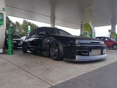 #Nissan_Cefiro_A31 #Modified #BlackOnBlack #Lowered #Stance
