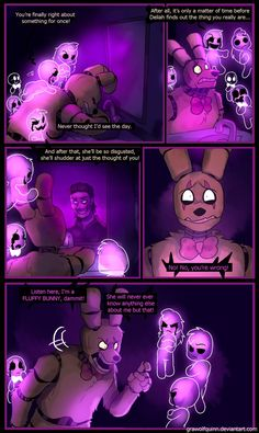 Springtrap and Deliah (Page 61) by GraWolfQuinn