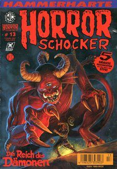 Cover for Horrorschocker (Weissblech Comics, 2004 series) #13 APRIL 2007