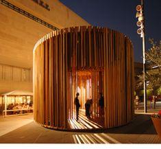 Adjaye Associates: Sclera pavilion, London |Architecture Today