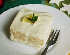 Citromos álom | Katarzis Vanilla Cake, Camembert Cheese, Ale, Dessert Recipes, Food And Drink, Vegetarian, Sweets, Cream, Drinks