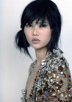 Mey Bun, a Cambodian-American model (born in 1982, in Brooklyn New York).