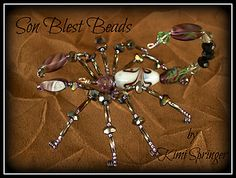 A beaded scorpion by me, Kimi Springer/Son Blest Beads :)