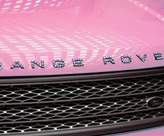 Pink Range Rover