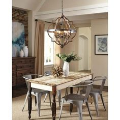 Sea Gull Lighting Socorro Six Light Hall Or Foyer Fixture Aff Link Fixer Upper Farmhouse Chandelier Rustic