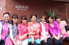AneCanランニング部メンバーが集まり、原宿にあるランニングステーション『NOHARA BY MIZUNO』にて決起会