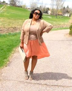 Plus Size Fashions, Spring Fashions, 30+ Blogger, 40+ Blogger, pumpsandstudz, Taupe & Nude