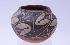 An Exceptional Smaller Zia Pueblo Trios Pottery Jar - late 19th century      eBay