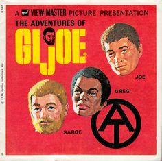 THE ADVENTURES OF GI JOE by Hasbro View-master reel set 1974 booklet (minkshmink)