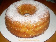 Ρεβανί με ινδοκάρυδο - cretangastronomy.gr Greek Sweets, Greek Desserts, Greek Recipes, Scones, Muffins, Homemade Sweets, Greek Cooking, Different Recipes, Cupcake Cakes