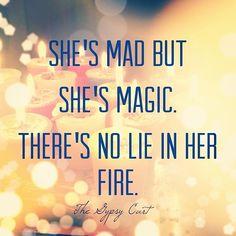 She's mad but she's magic #thegypsycart