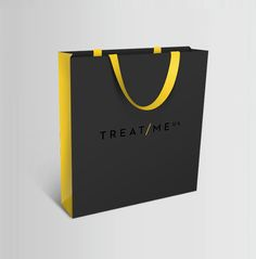 Treat Me UK Branding by Alex Townsend, via Behance PD, color Fashion Packaging, Luxury Packaging, Bag Packaging, Fashion Branding, Paper Carrier Bags, Paper Bags, Shoping Bag, Shopping Bag Design, Paper Bag Design