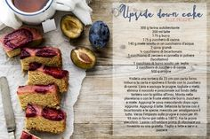 plum upside down cake - upside down cake - torta di prugne - torta capovolta di prugne