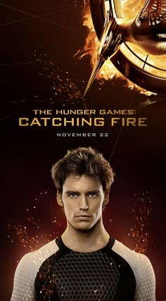 The Hunger Games: Catching  Fire - Finnick on popcorn buckets and soda cups!