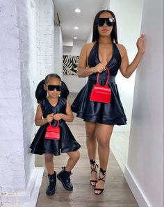 Mommy And Me Outfits, Family Outfits, Cute Outfits For Kids, Mother Daughter Fashion, Mom Daughter, Black Baby Girls, Cute Baby Girl, Girl Fashion, Fashion Outfits