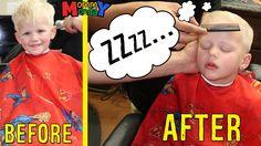 Mommy & Alyssa Girls Day Out, Michael Sleeps Through Hair Cut, Camera Sh...