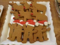 Christmas cookies-haha I don't know why but these gingerbread men make me laugh..