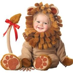 Infant Lion Halloween Costume