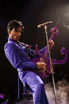 Yes. It's all about the purple...Purple Rain, that is.