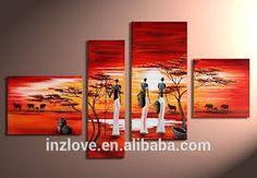 Resultado de imagen para pinturas de mujeres africanas