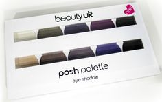 HaySparkle: Beauty UK Posh Eyeshadow Palette Review in No4 Gal...