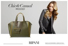 Fall Winter Collection - model AVENA #accessory #handbag #casual #chic #mood