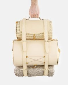 Panter & Tourron, Romantic Adventure picnic backpack, by Stefano Panterotto and Alexis Tourron. Nowadays luxury represents the research for powerful experiences rather then the desire to posses the actual object. Romantic Adventure is a picnic backpack inspired by travels, adventures and outdoor lifestyle.