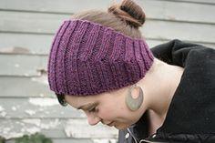 Calorimetry headband - Free knitting pattern on Ravelry