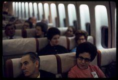 Airplane passengers, 1972