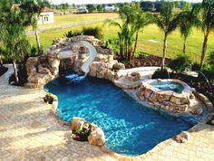 small backyard pools - Google Search