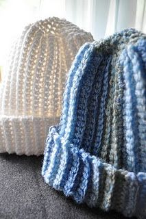 easy pattern - makes a wonderful cozy hat