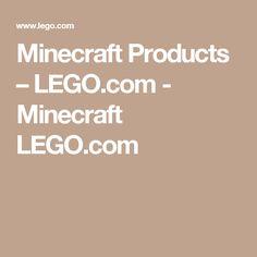 Minecraft Products – LEGO.com - Minecraft LEGO.com