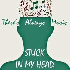 I always say my head is like a musical jukebox as I am always singing various songs everyday that have got stuck in my head. Xx