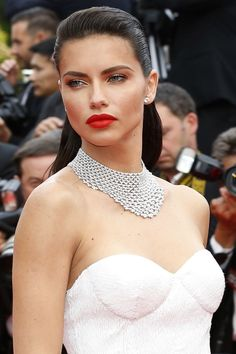 Celebrities at Cannes copy in Chopard: Adriana Lima