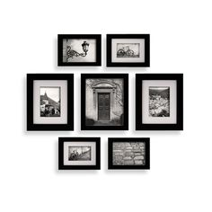 Create-a-Gallery Snapshot 7-Piece Frame Set - Black - Bed Bath & Beyond
