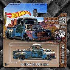 Rc Cars And Trucks, Toy Trucks, Custom Trucks, Custom Hot Wheels, Hot Wheels Cars, Carros Hot Wheels, F100, Miniature Cars, Cute Cars
