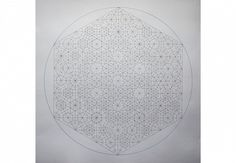 Dana Awartani, Within A Sphere 6 2014, Pen and Pencil on paper