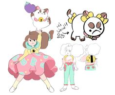 Bee and Puppycat from Cartoon Hangover