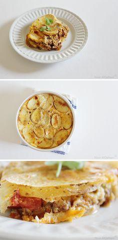 Serbian Potato Musaka