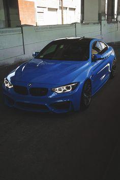 Blue BMW M series sedan | BMW | Bimmer | Blue BMW | M series | M | BMW USA | BMW NA