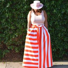 In My Joi: Candy Stripes #pastelpink #stripes #plussize #streetstyle
