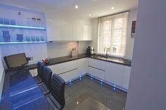 Acrylic gloss kitchen design
