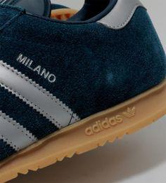 adidas Originals Milano   Deep Petrol, Metalic Silver & Gum
