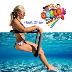 For convenient travel, storage, or anytime-use, the Floating Noodle Chair provides comfort, adjust-ability, and ease of use. Sit or recline as desired by simply adjusting the noodle position under your legs and back. Enjoy semi-submerged comfort while sitting or lounging. Colors will match but vary from picture.